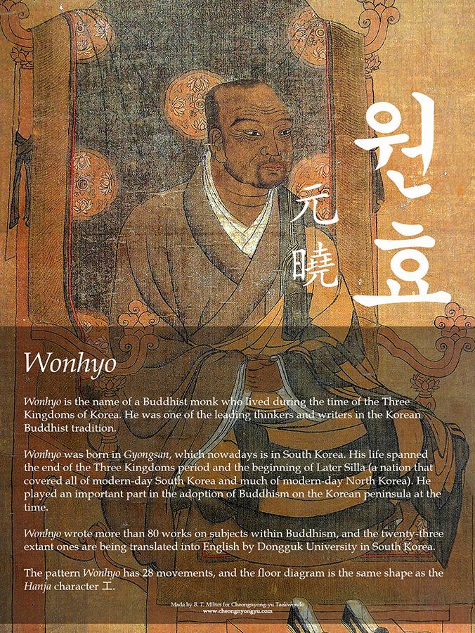 Wonhyo Info Poster
