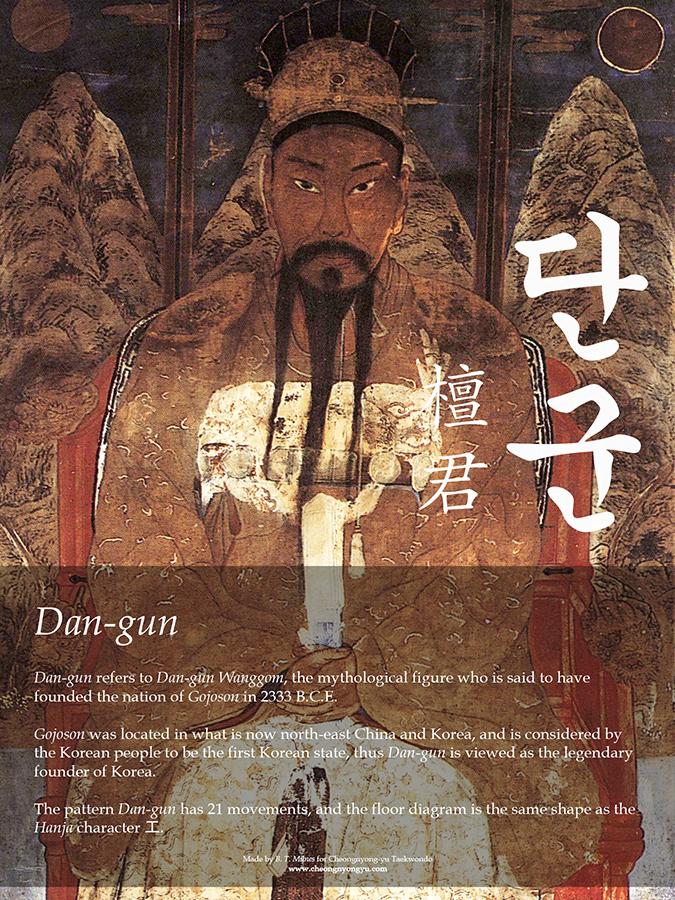 Dan-gun Info Poster