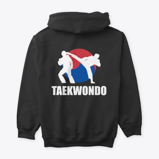Taekwondo Fighter Hoodie